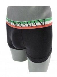 Boxer Armani Flag Negro