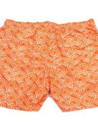 Bañador Emporio Armani Geométrico Naranja