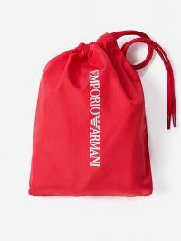Bañador Emporio Armani Hombre Liso en Rojo
