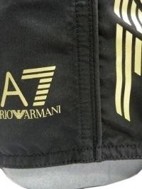 Bañador Emporio Armani Lines Negro