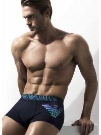 Boxer Armani Metal Shaded Eagle Blue