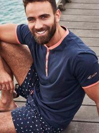 Pijama hombre Muydemi yate en marino