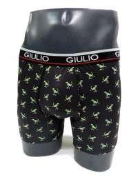 Boxer Giulio con Dinosaurios en microfibra
