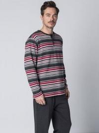 Pijama Guasch Algodón Perchado Marengo