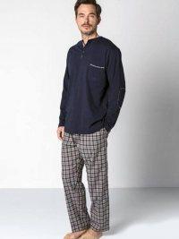 Pijama Guasch Algodón Marino