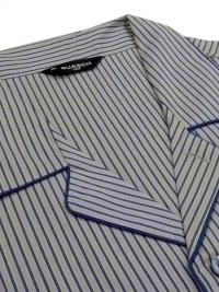 Pijama Guasch Tela Algodón Rayitas (Talla Extragrande)