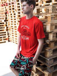 Pijama Lois Rojo Hombre