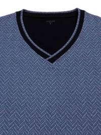 Pijama Impetus de Modal mod. Merlion Azul