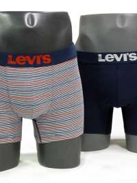 Pack 2 Boxers Levi´s 200 Series Stripes Dress Blues