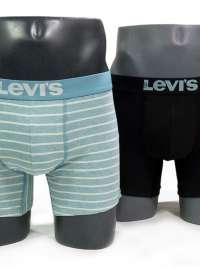 Pack 2 Boxers Levi´s 200 Series Stripes Reef Waters