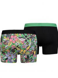 Pack 2 Boxers Levi´s 200 Series Flower Verde