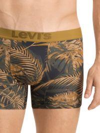 Pack 2 Boxers Levi´s estampado tropical en negro