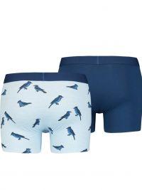 Pack 2 Boxers Levi´s milrayas en azul