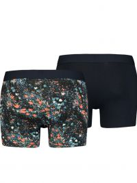 Pack 2 Boxers Levi´s estampado Spacey Flower en marino