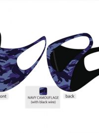 Mascarillas Higiénicas Blackspade azul camuflaje