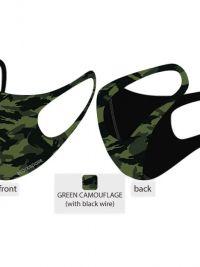 Mascarillas Higiénicas Blackspade verde camuflaje