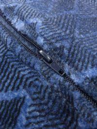 Parka Polar Massana con cremallera en azul cobalto