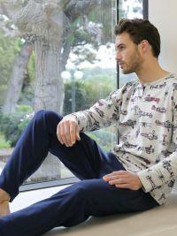 Pijama Massana Hombre mod. Aviones