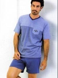 Pijama Verano Massana Azul