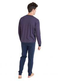 Pijama Massana con puños y bolsillo en el pecho. Talla Especial