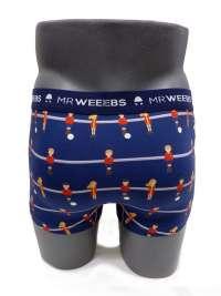 Boxer Mr. Weebs Algodón Futbolín