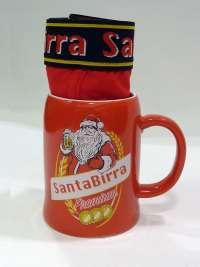 Boxer Admas Santa-Birra en rojo