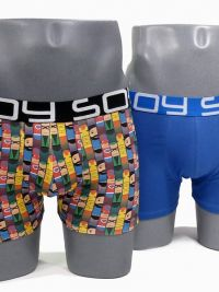 2 Pack Soy Underwear Boxer Hero