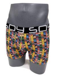 2 Pack Soy Underwear Boxer Hero