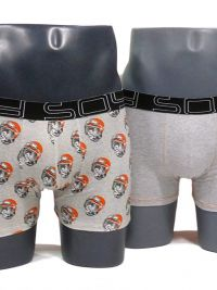2 Pack Soy Underwear Boxer Monkey Wild Bike