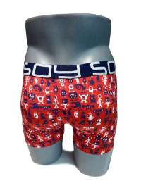 2 Pack Boxers Soy Underwear Monster