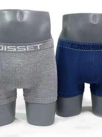 Pack de Boxer sin costuras DISSET gris azul