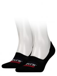 2 Pack de Calcetines Levi´s Invisible en negro