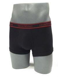 3 Pack Boxers Emporio Armani en blanco, gris y negro