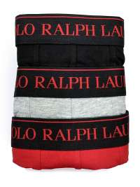 3 Pack Boxers Polo Ralph Lauren NGR