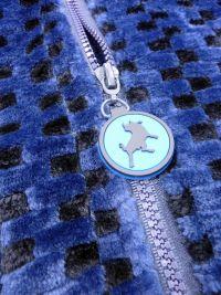 Parka Polar Lois Coralina azul y negro