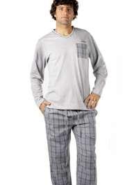 Pijama Pettrus Man Combinado Gris