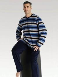 Pijama Pettrus de Terciopelo a Rayas
