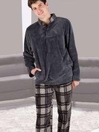 Pijama Pettrus Man Térmico Polar Gris Antracita