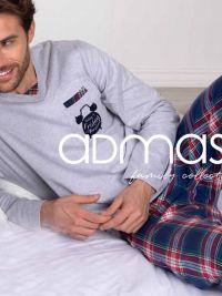 Pijama Admas juvenil afelpado con pantalón de cuadros