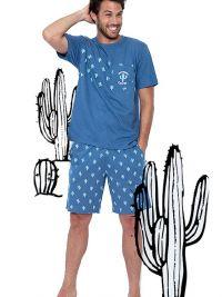 Pijama Admas Hombre con cactus