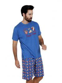 Pijama Admas estampado con fast food