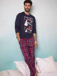 Pijama Admas para Hombre combinado Walk