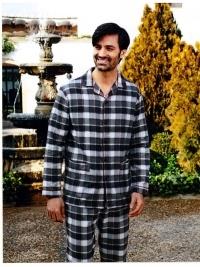 Pijama Barandi de Franela Edgar