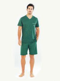 Pijama Blackspade de Modal y Algodón mod. Forest Green
