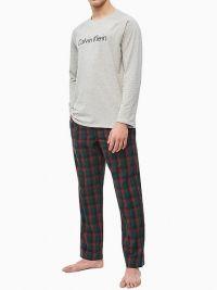 Pijama Calvin Klein Homewear con pantalón de tela