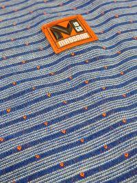 Pijama Massana Hombre azul con rayas y tapeta