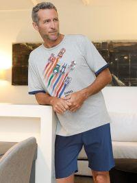 Pijama Massana Homewear en gris vigoré