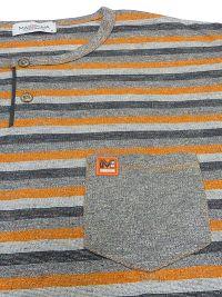 Pijama Massana Homewear gris con rayas y tapeta