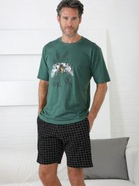 Pijama Massana de verano con cuello redondo mod. Kayak