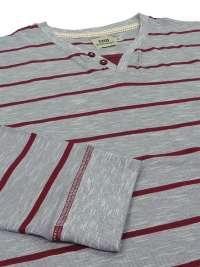 Pijama Barandi Diego punto fino combinado con puños